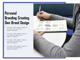 Personal Branding Creating Own Brand Design