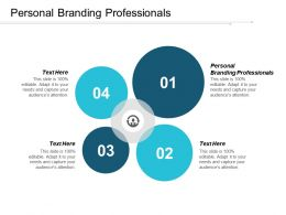 Personal Branding Professionals Ppt Powerpoint Presentation Ideas Graphics Template Cpb