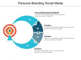 Personal Branding Social Media Ppt Powerpoint Presentation Slides Files Cpb
