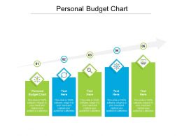 Personal Budget Chart Ppt Powerpoint Presentation Infographics Slides Cpb