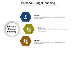 Personal Budget Planning Ppt Powerpoint Presentation Infographic Template Portrait Cpb