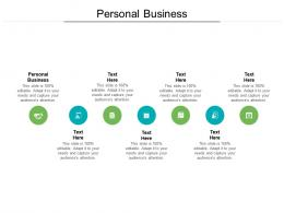 Personal Business Ppt Powerpoint Presentation Icon Professional Cpb