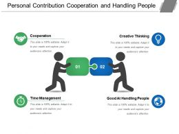 Personal Contribution Cooperation And Handling People
