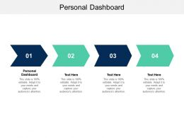 Personal Dashboard Ppt Powerpoint Presentation Infographics Skills Cpb