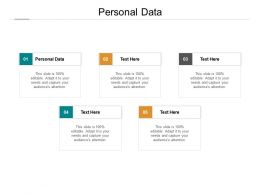 Personal Data Ppt Powerpoint Presentation Model Topics Cpb