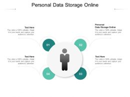 Personal Data Storage Online Ppt Powerpoint Presentation Pictures Aids Cpb