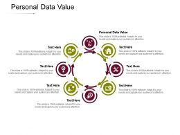 Personal Data Value Ppt Powerpoint Presentation File Graphics Tutorials Cpb