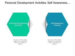 Personal Development Activities Self Awareness Training Dissertation Methodologies Cpb