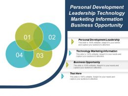 Personal Development Leadership Technology Marketing Information Business Opportunity Cpb