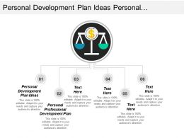Personal Development Plan Ideas Personal Professional Development Plan Cpb
