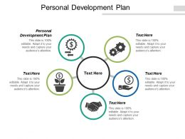 Personal Development Plan Ppt Powerpoint Presentation Ideas Template Cpb