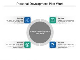 Personal Development Plan Work Ppt Powerpoint Presentation Pictures Backgrounds Cpb