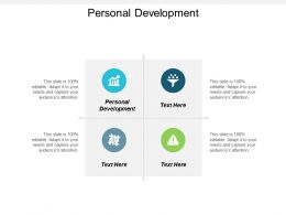 Personal Development Ppt Powerpoint Presentation Gallery Infographic Template Cpb