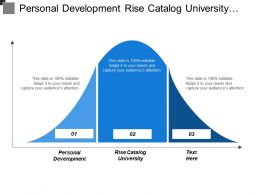 Personal Development Rise Catalog University Work Life Balance