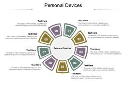 Personal Devices Ppt Powerpoint Presentation Pictures Graphics Example Cpb