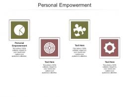 Personal Empowerment Ppt Powerpoint Presentation Model Elements Cpb