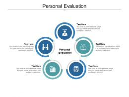 Personal Evaluation Ppt Powerpoint Presentation Inspiration Graphic Images Cpb