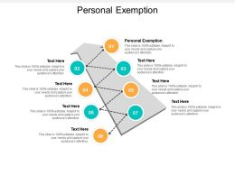Personal Exemption Ppt Powerpoint Presentation Inspiration Influencers Cpb