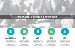 Personal Finance Flowchart Ppt Powerpoint Presentation Infographic Template Vector Cpb