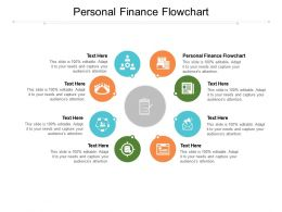 Personal Finance Flowchart Ppt Powerpoint Presentation Summary Example Cpb