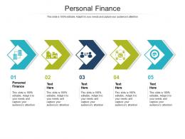 Personal Finance Ppt Powerpoint Presentation Gallery Brochure Cpb