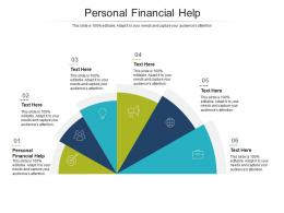Personal Financial Help Ppt Powerpoint Presentation Show Picture Cpb