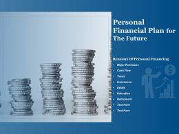 Personal Financial Plan For The Future