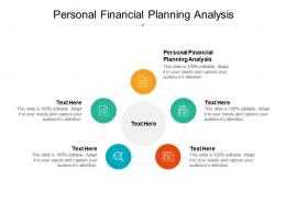 Personal Financial Planning Analysis Ppt Powerpoint Presentation Show Graphics Template Cpb