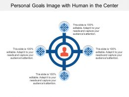 Personal Goals Image With Human In The Center