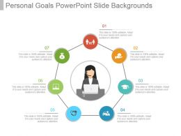 Personal Goals Powerpoint Slide Backgrounds