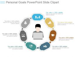 Personal Goals Powerpoint Slide Clipart