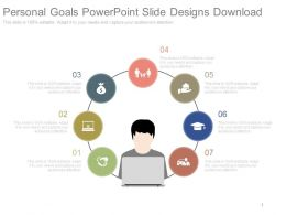 Personal Goals Powerpoint Slide Designs Download