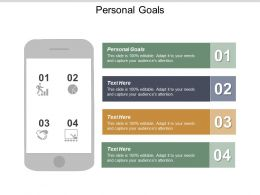 Personal Goals Ppt Powerpoint Presentation Icon Clipart Images Cpb