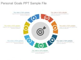 Personal Goals Ppt Sample File