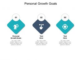 Personal Growth Goals Ppt Powerpoint Presentation Slides Maker Cpb