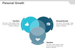 Personal Growth Ppt Powerpoint Presentation Icon Graphics Cpb
