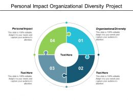 Personal Impact Organizational Diversity Project Tracking Strategic Metrics Cpb