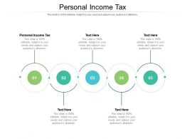 Personal Income Tax Ppt Powerpoint Presentation Model Vector Cpb