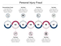 Personal Injury Fraud Ppt Powerpoint Presentation Outline Slide Cpb