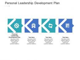 Personal Leadership Development Plan Ppt Powerpoint Presentation Portfolio Examples Cpb