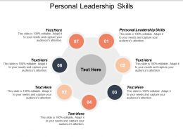 Personal Leadership Skills Ppt Powerpoint Presentation Summary Diagrams Cpb