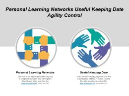 Personal Learning Networks Useful Keeping Date Agility Control