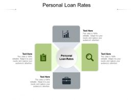 Personal Loan Rates Ppt Powerpoint Presentation Portfolio Show Cpb