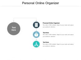 Personal Online Organizer Ppt Powerpoint Presentation Outline Gallery Cpb