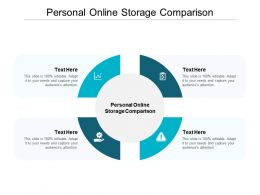 Personal Online Storage Comparison Ppt Powerpoint Presentation Infographics Aids Cpb