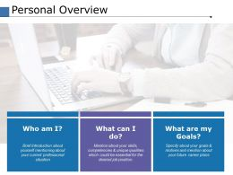 Personal Overview Ppt Powerpoint Presentation File Template