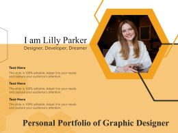 Personal Portfolio Of Graphic Designer