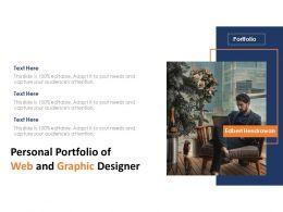 Personal Portfolio Of Web And Graphic Designer