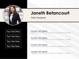 Personal Portfolio Of Web Designer
