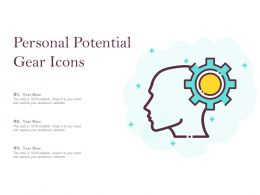 Personal Potential Gear Icons
